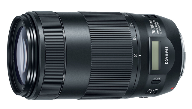 EF 70-300mm f/4-5.6 IS II USM,新增了 LCD 螢幕