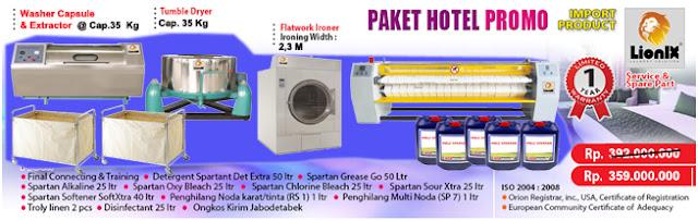 paket usaha laundry hotel