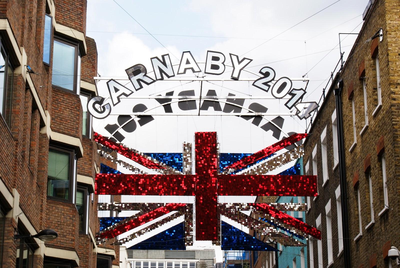 carnaby street soho london uk england britain