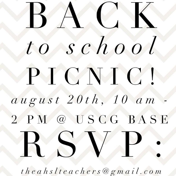 Back to School Picnic!