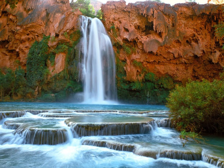 5. Havasu Falls, Arizona, USA - Top 10 Natural Pools