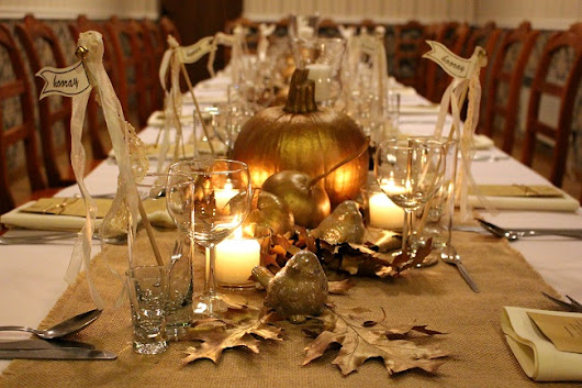 Autumn Party Decoration
