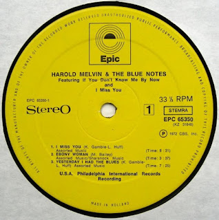Music Crates Harold Melvin Amp The Blue Notes The Blue