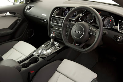 Old Audi A5 interior
