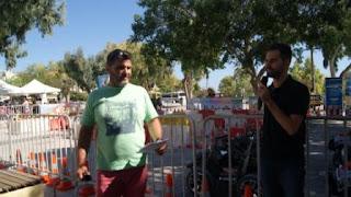 Ο Βαγγέλης Αυγουλάς και ο Μιχάλης Δρακάκης διοργανωτές