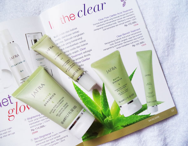 Review Jafra Clear Blemish Dan Clear Pore Clarifier Acne