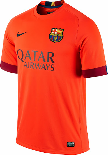 watch db218 349a2 FC Barcelona 14-15 (2014-15) Home, Away and Third Kits ...