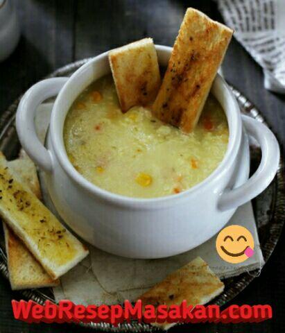 Cream soup, Resep potato cream soup,