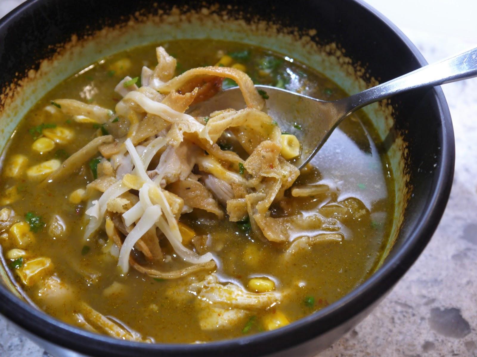 Clockwatching Tart: Mexican Tortilla Soup