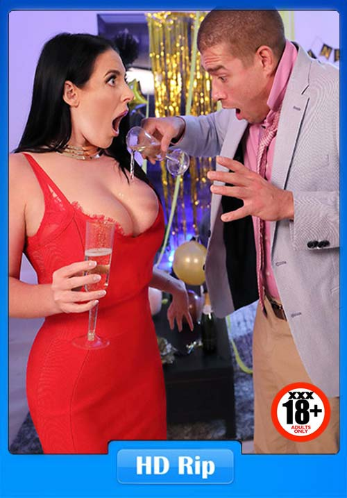 [18+] Brazzers 2019 - Angela White - Fappy New Year XXX Porn clip Poster