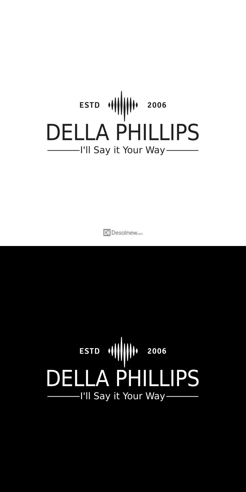 Della Phillips Logo Design Project Portfolio Desainew Studio