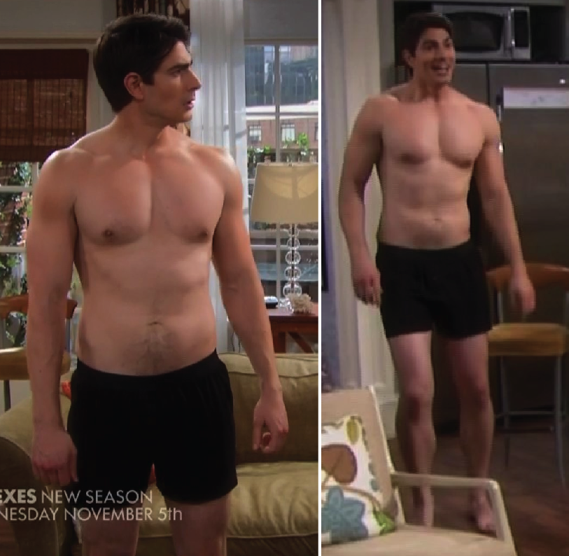 brandon routh workout - photo #7