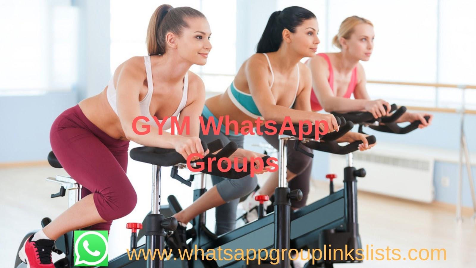 Join Gym WhatsApp Group Links List