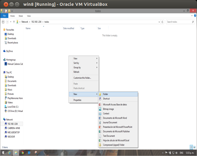 DriveMeca instalando Samba en modo FileServer