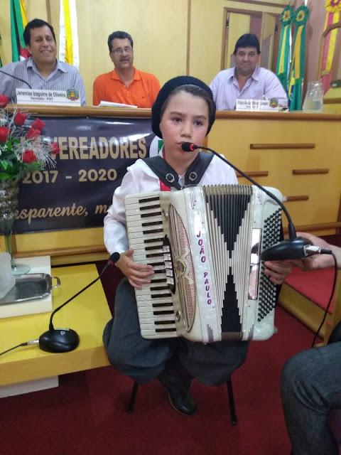 Moção de Reconhecimento ao talentoso João Paulo Lançanova Lopes