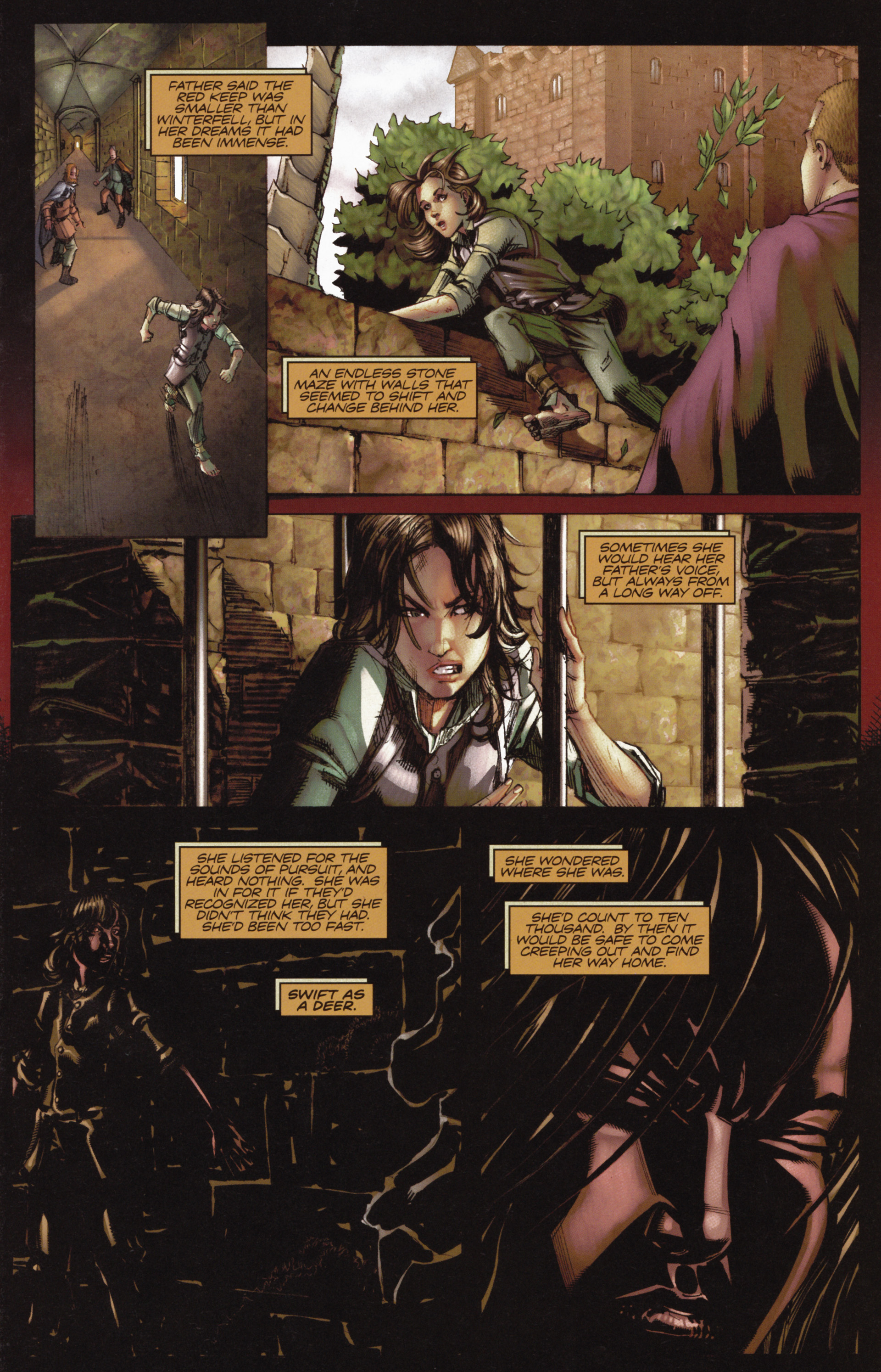 Read online A Game Of Thrones comic -  Issue #10 - 17