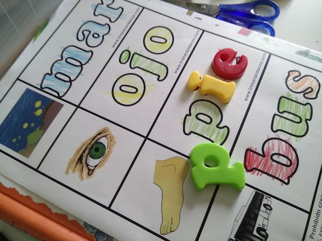 imprimible gratis montessori letras magneticas