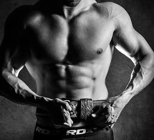 image of body builder torso