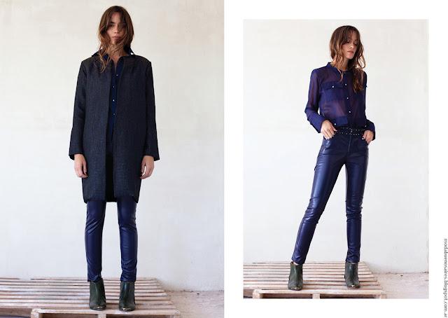 Moda mujer invierno 2016 Pura Pampa. Moda Jeans invierno 2016.