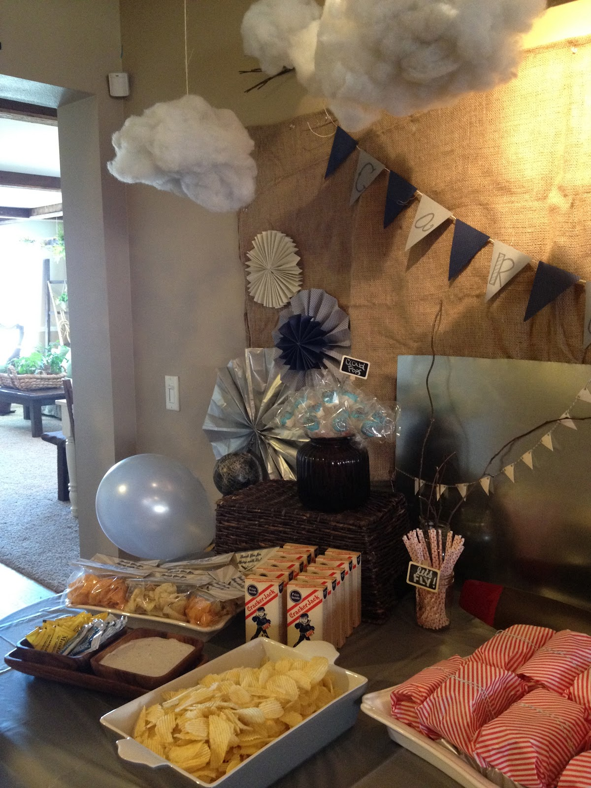 The Vintage Fern Vintage Airplane Baby Shower And Party Tips