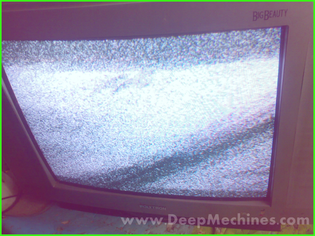 TV POLYTRON 21-Inch, Type BB 5132 M - Daya Tangkap Siaran Lemah