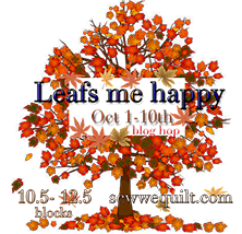 Fall Leafs Me Happy Blog Hop