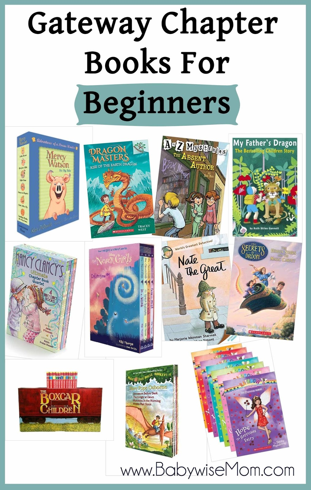 Great chapter books for beginners