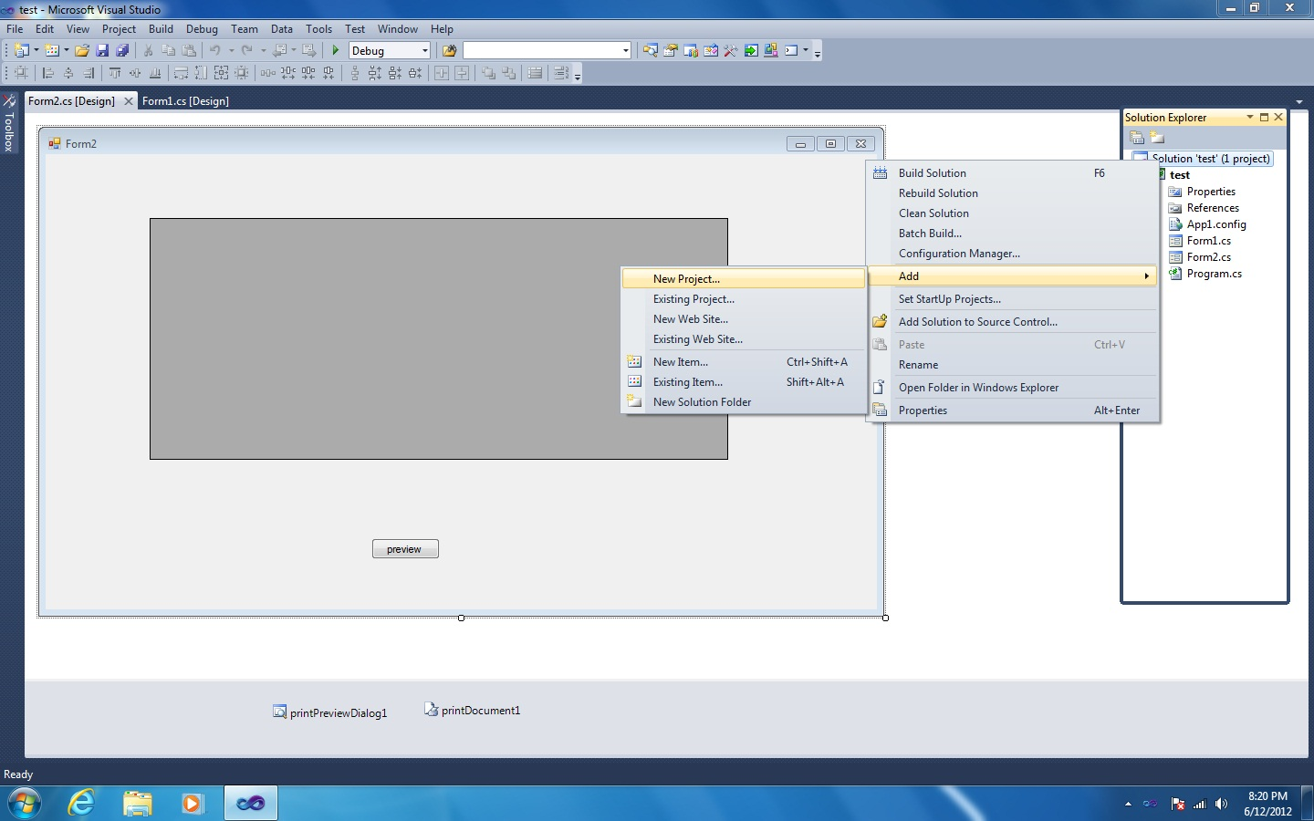 How to Create Setup file( Exe File) from Windows Forms Application