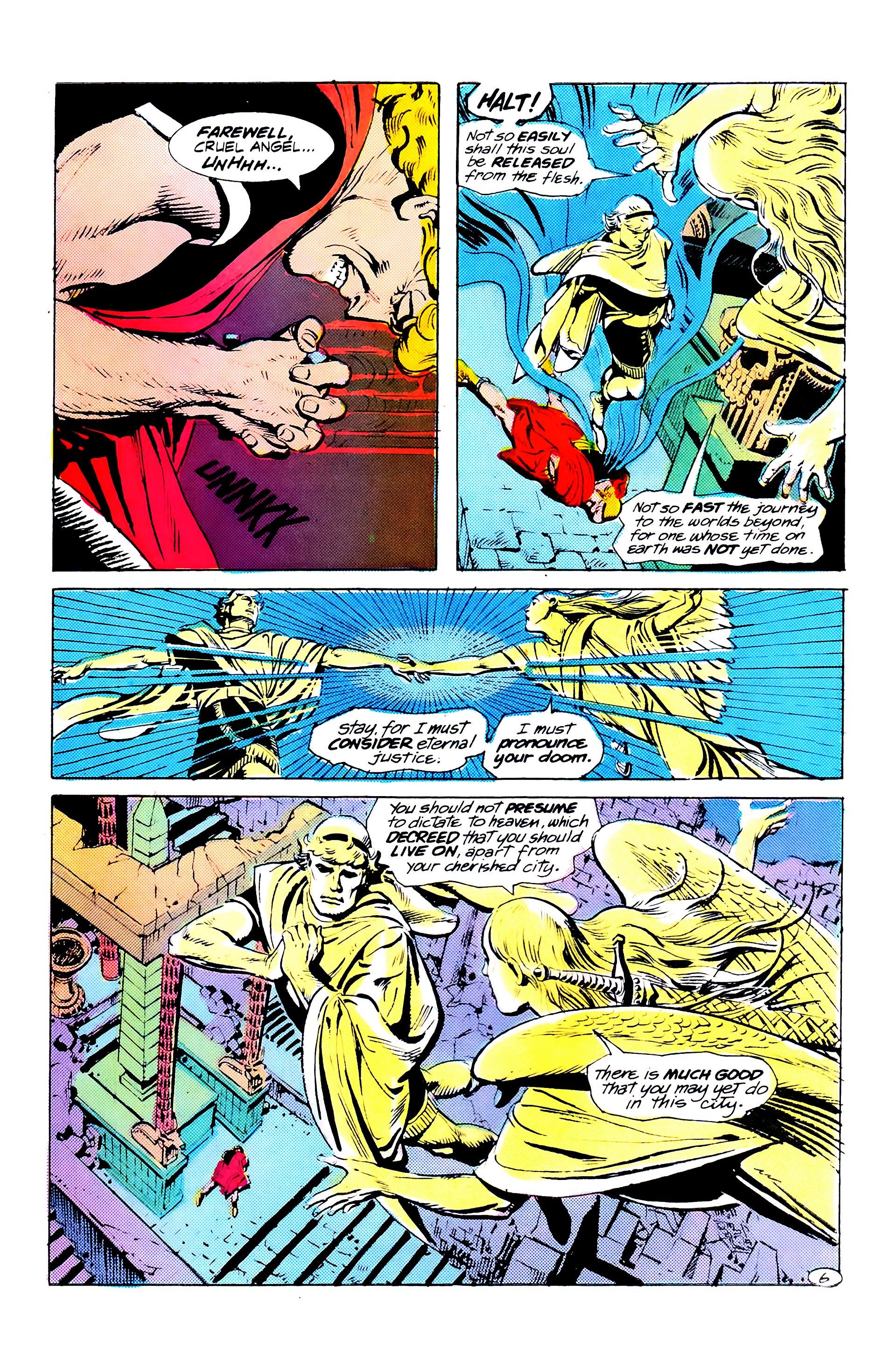 Read online Secret Origins (1986) comic -  Issue #10 - 22