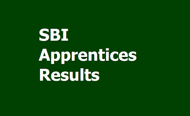 SBI Apprentices Recruitment 2019 Final Results Released