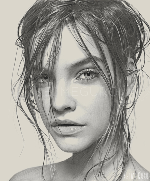 10-Lady-B-Kei-Meguro-Traditional-and-Digital-Art-Portraits-in-New-York-www-designstack-co