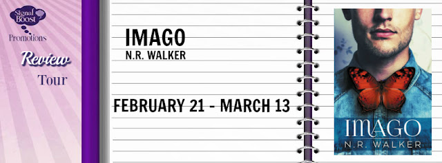 Review Tour incl Release Day Review & Giveaway: N.R. Walker - Imago