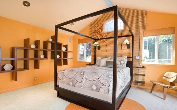 model desain kamar tidur rumah minimalis terbaru type 45
