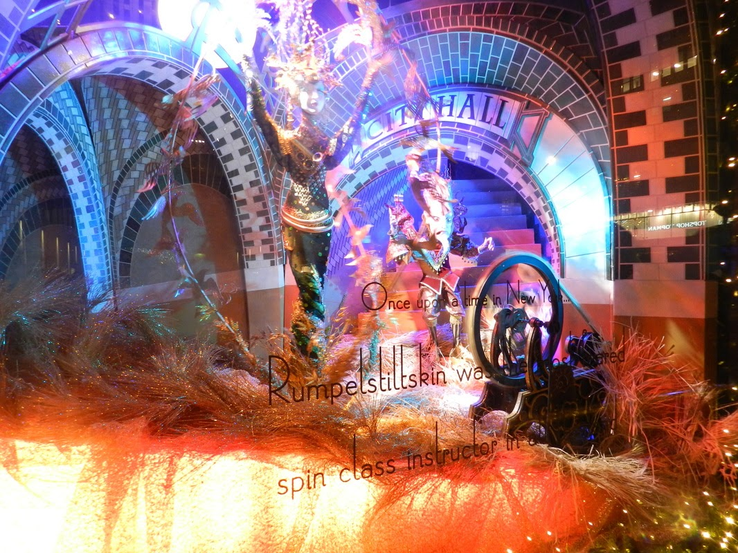 saks fifth avenue christmas window nyc display