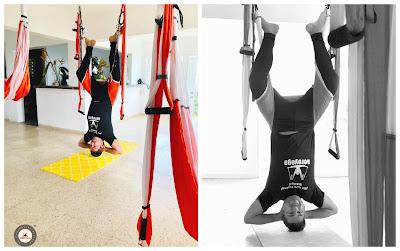 aeroyoga, yoga aereo, aerial yoga, air yoga, formacion, cursos, noticias, certificacion, acreditacion, profesorado, sirsasana, posturas, ejercicios, salud, tendencias