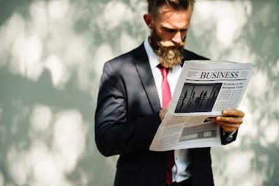 leer noticias de negocios en inglés