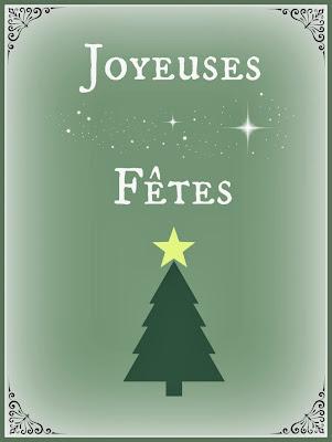 Carte de voeux de Noël à téléchargez gratuitement