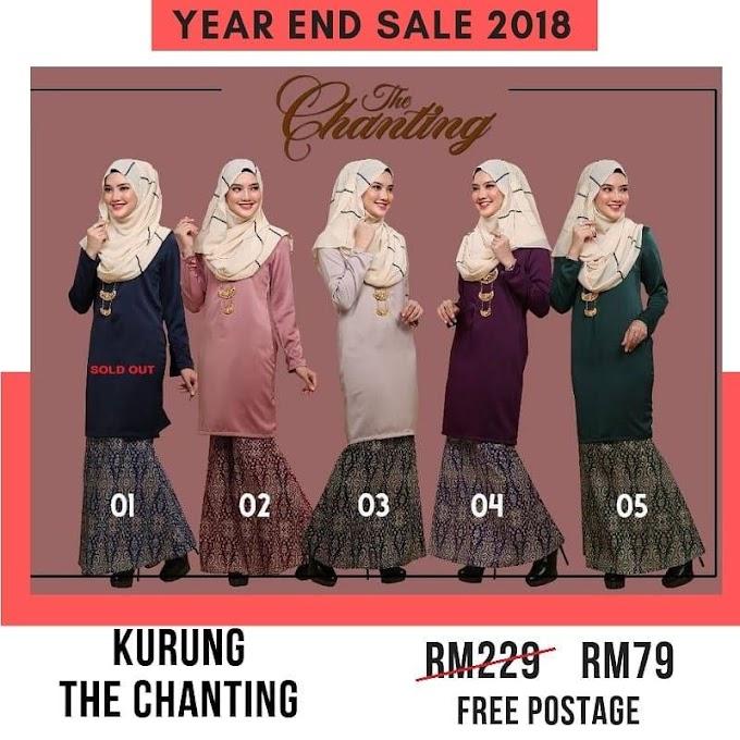 Year End Sale 2018 ~ Baju Kurung The Chanting