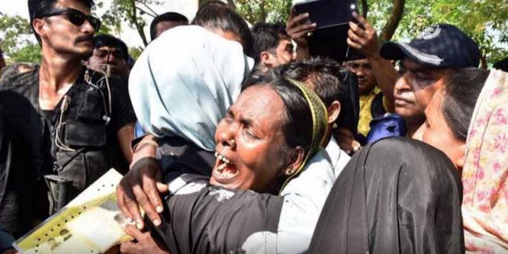 Pecah Tangisan, Ibu Negara Turki Temui Pengungsi Muslim Rohingya