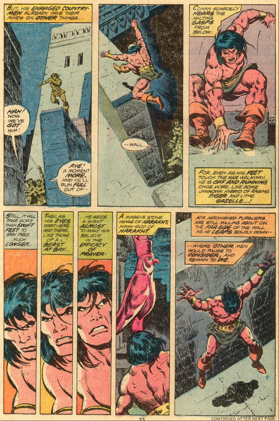 Conan the Barbarian (1970) Issue #76 #88 - English 14