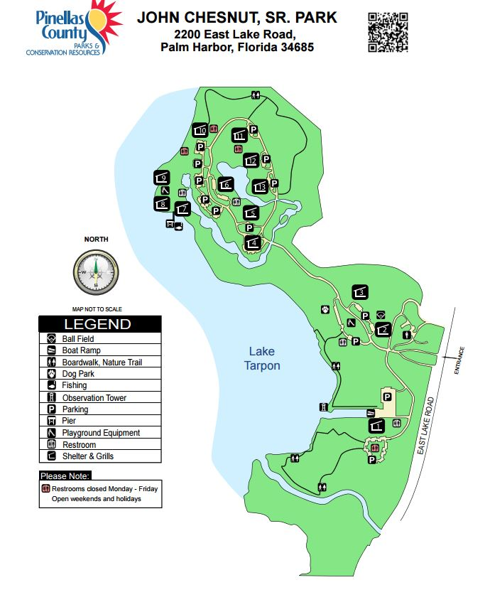 John Chesnut Park Map Summit Hiking in New England: John Chesnut Sr. Park, Florida  John Chesnut Park Map