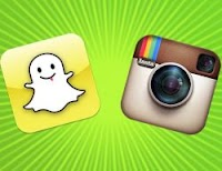 Inviare foto e video private da cellulare con Snapchat e Instagram