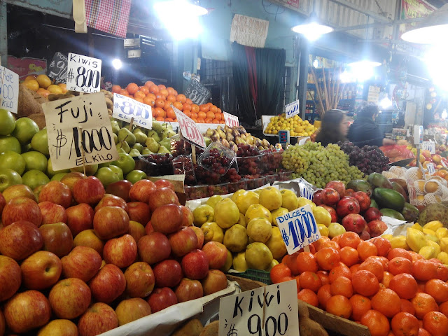 Mercado de la Vega, Santiago de Chile