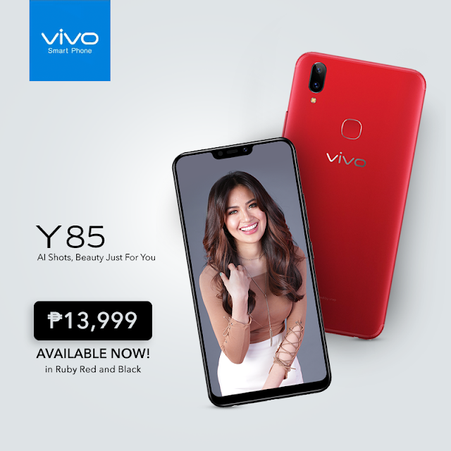 Vivo Y85 is now available in PH