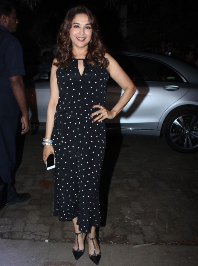 Madhuri Dixit At Toilet Ek Prem Katha Movie Special Screening