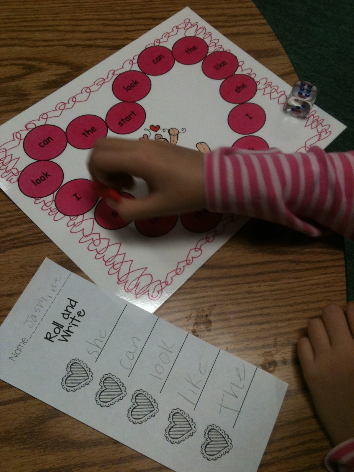 Kreative In Kinder We Love Valentine Centers