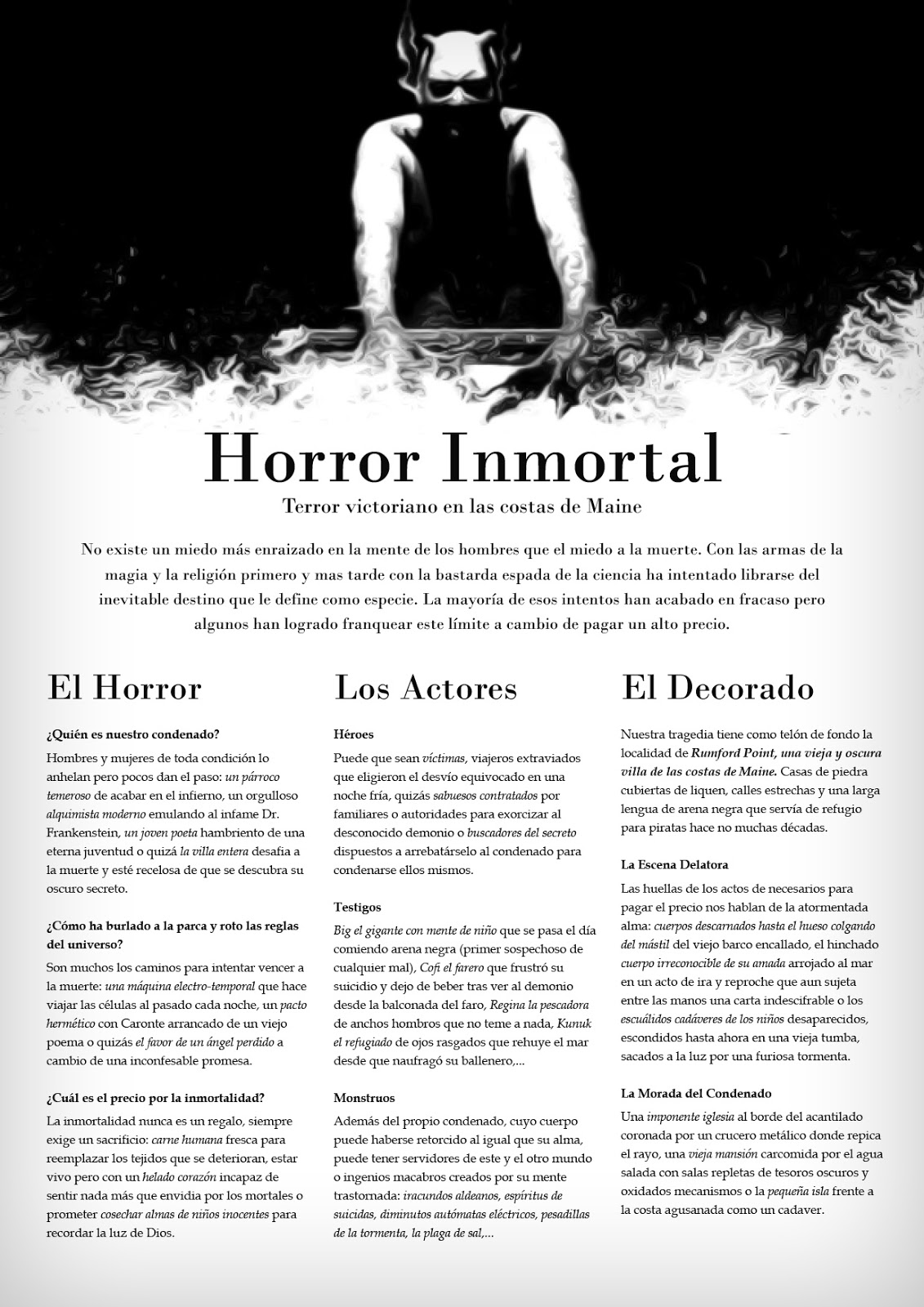 Horror Inmortal ST01 - Descargar PDF