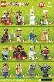 Lego series 13