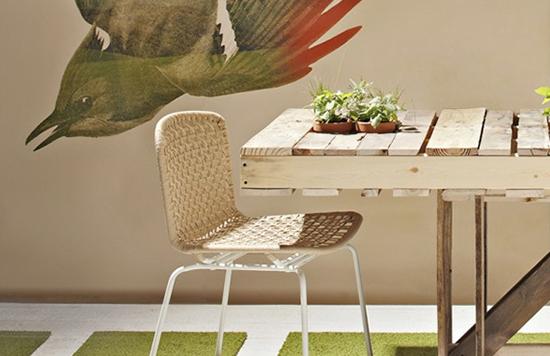 meja makan dari kayu pallet bekas