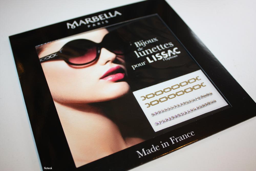 bijoux pour lunette offert